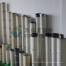FORST Lieferant Polyester Zement Filter Industrie Air Bag Filter