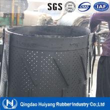 Special Conveyor Belt with Holes Chain Shot Blast Machine Rubber Belt