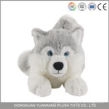 Brinquedo do cão do luxuoso do olhar real de 25cm