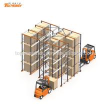 almacén de metal palet rack para sistema de almacenamiento