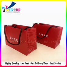 Hot Sale Red Color Paper Gift Bag