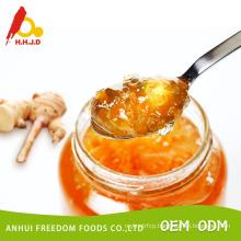 Retail 1kg sunflower honey in glass jar