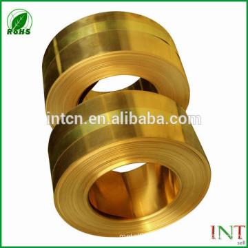 brass alloy H70 CuZn30 C26000 brass plate