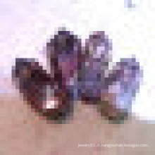 Nautral Red Crystal Points