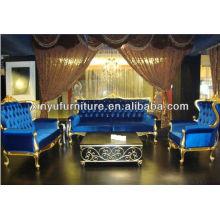 European classical soild wood sofa in China A10100