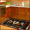 Tapis et tapis imprimés par conception colorée, tapis d'importation de Chine