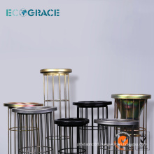 ECOGRACE Silicon Industrial PPS cloth dust filter bag cage
