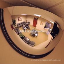Espejo de cúpula de acrílico de plástico / espejo de medio domo / espejo de media luna