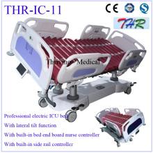 Cama de ICU eléctrica de inclinación lateral