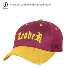 Полиэстер бейсболка с Кепка Спорт шляпа Спортивная шапка мода шапка Promitonal Крышка Мягкая Крышка сетки
