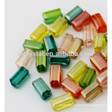 crystal jewelry rectangle beads prices crystal beads