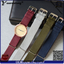 YXL-102 plus récent Perlon sangle bande poignet montre bracelet Perlon bande Design personnalisé OEM en gros hommes femmes montre bracelet de montre