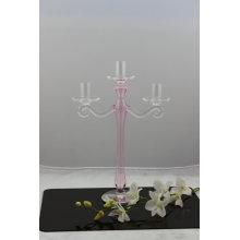 Bougeoir en verre pour décoration maison avec trois affiches de SGS
