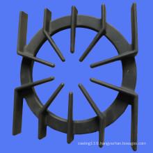 cast iron gas hob with enamel