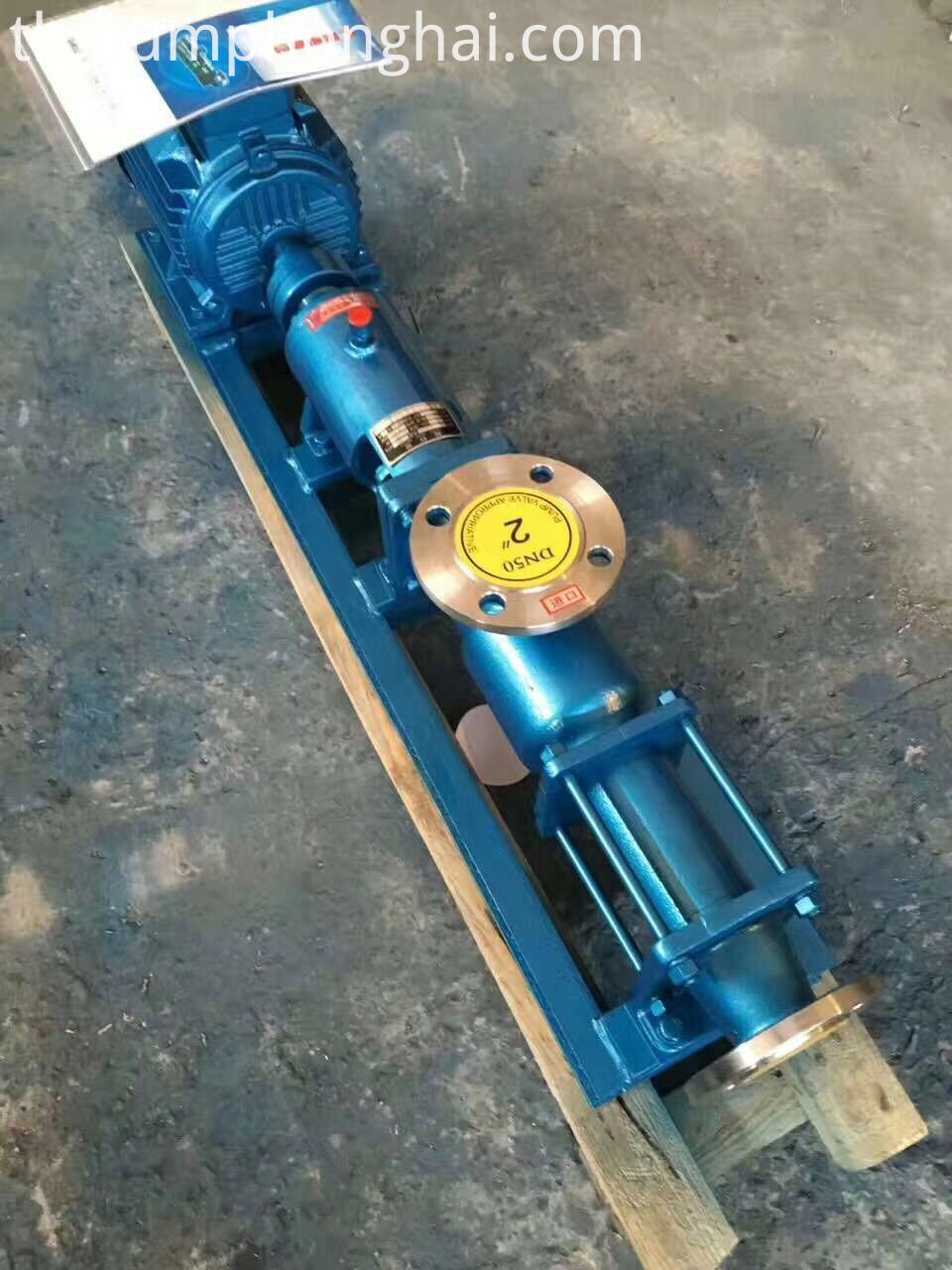 sludge screw pump