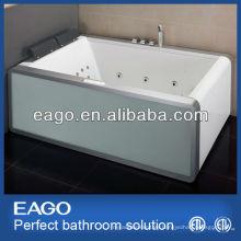 Glass Apron Water Jet Whirlpool Massage Bathtub (AM151-1)