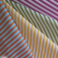 Benang Dicelup Cotton Sateen Stripe Fabric