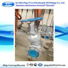 Válvulas de passagem de óleo e gás pipelina