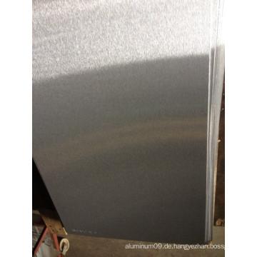 Gebürstete Aluminiumbleche 5052 für Schilder