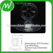 Copa de succión de alto nivel industrial de 25 mm con anillo