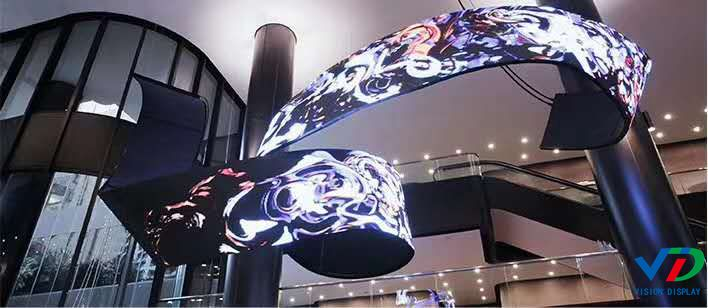 P2 Soft Flexible Full Colour Led Display