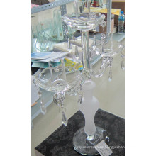 Frosting Glass Candle Holder with Three Posters...
