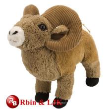 Juguetes de felpa de Navidad personalizados juguetes de animales de oveja de felpa