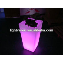 pots de planteur lumineux menés Pot de jardin changeant de couleur multi LED décoratifs