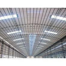 Hojas de techo corrugado de plástico transparente para tragaluz