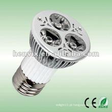 Projetor de iluminação LED E27 3W