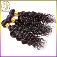 hochwertige braune locken, indische virgin remy Kutikula Haarverlängerungen