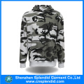 Wholesale Men′s Warm Hooded Sweatshirt Fashion Camouflage Hoody
