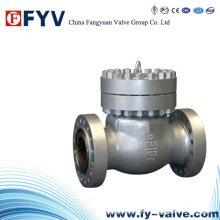 Válvula de retención de oscilación de acero