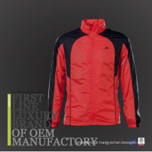 2017 New Design Nylon Fabric Outdoor Men impermeável jaqueta