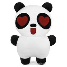 Panda decoración día de san valentín peluche juguetes de búfalo