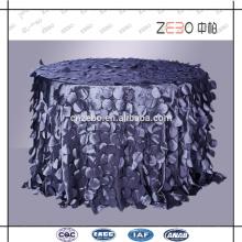 Trade Assurance Supply Fashion Style Dekoration Fancy Tischdecke für Hochzeiten