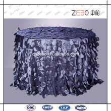 Trade Assurance Supply Fashion Style Decoration Fancy Table Cover for Weddings