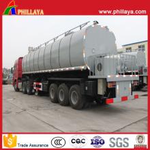 3-Axle Pitch Asphalt Tanker Semi Trailer for Asphaltum Transport