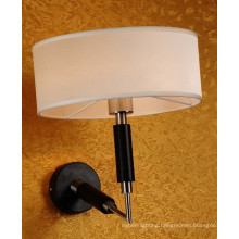 New Design High Quality Iron Wall Lamp with Fabric