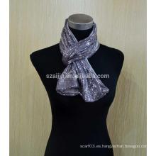 Bufanda del infinito de Jersey del algodón de las señoras de la manera