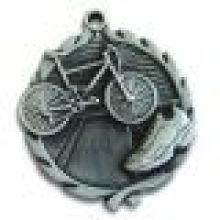 3D бесцветная медаль Античная серебрение