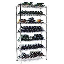Ajustável vertical ferro forjado titular garrafa de garrafa de vinho, aprovação NSF