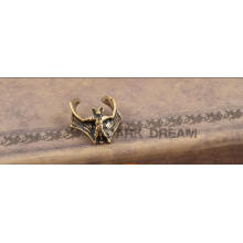 Bisutería de moda Pendientes de clip de brazalete de oreja vintage hechos en latón