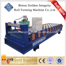DX JCX 860 roof tile making machine /metal roofing tile machine