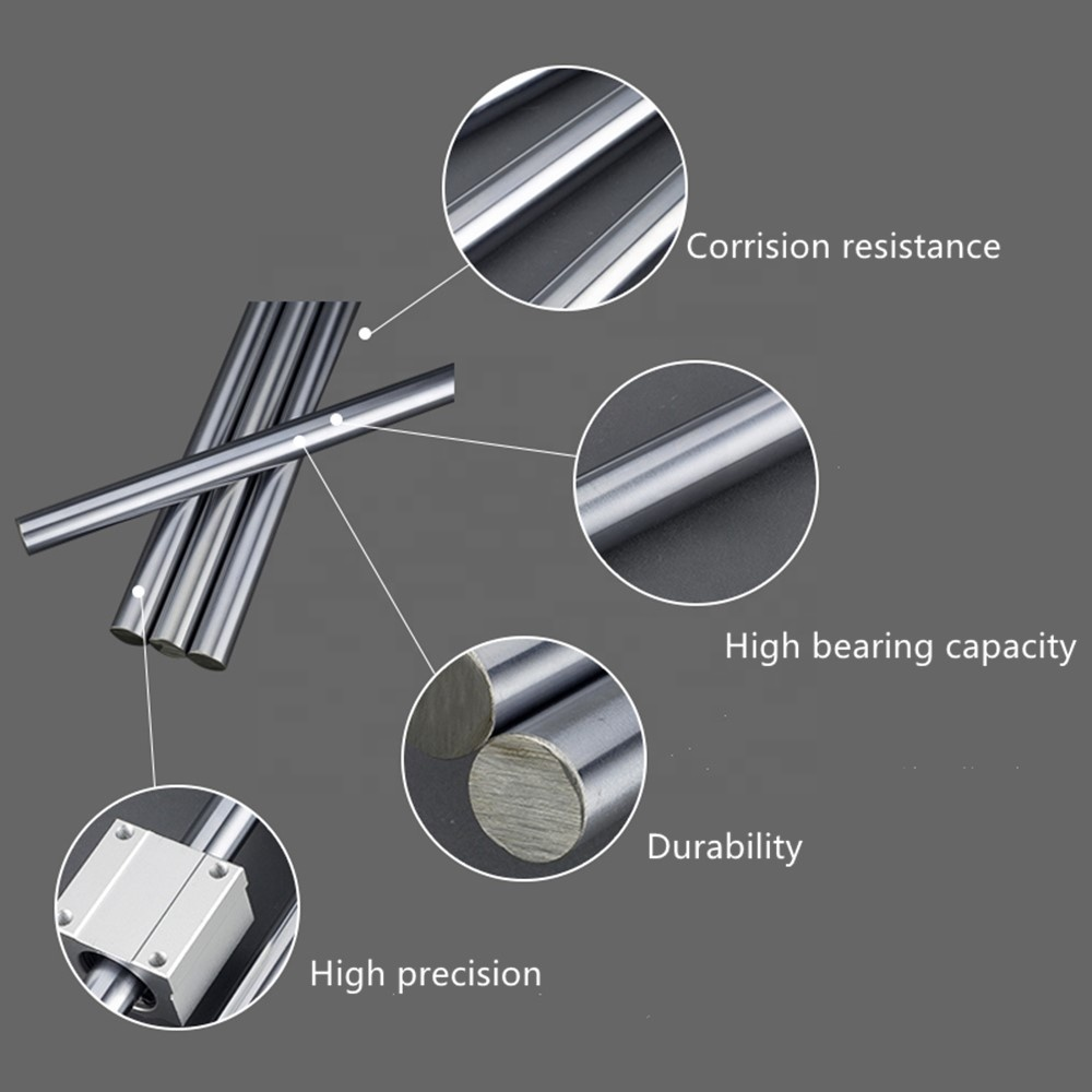 Hydraulic Cylinder Hard Chromed Plating Piston Rods