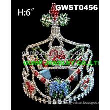 Christmas gift rhinestone tiara and crown