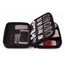 Nice Quality Power Bank Hard Disk Holder, EVA USB Cable Organizer Case Box For Travel