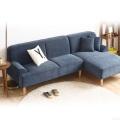 Скандинавском стиле небольшой гостиной диван угловой диван ткань диван секционные диван