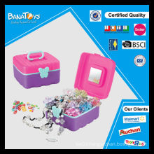 2015 hot item girls toys beauty set cosmetic case box