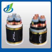 Cable de alimentación 6kv con aislamiento de cobre XLPE / PVC del conductor